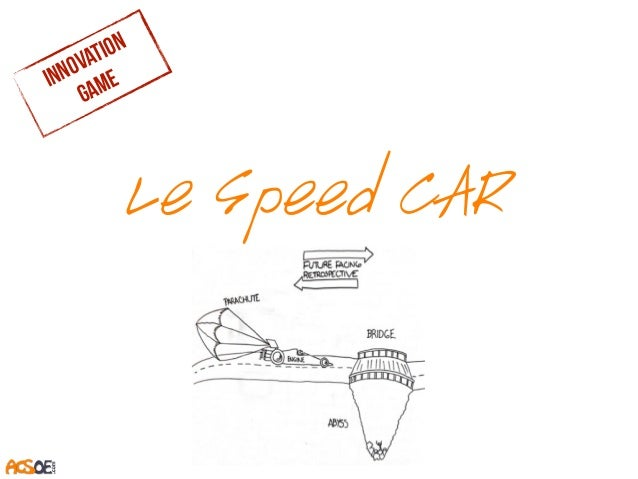 Le Speed CAR innovation game