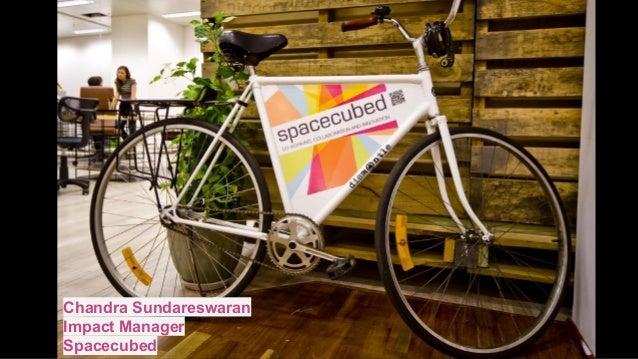 Chandra Sundareswaran Impact Manager Spacecubed