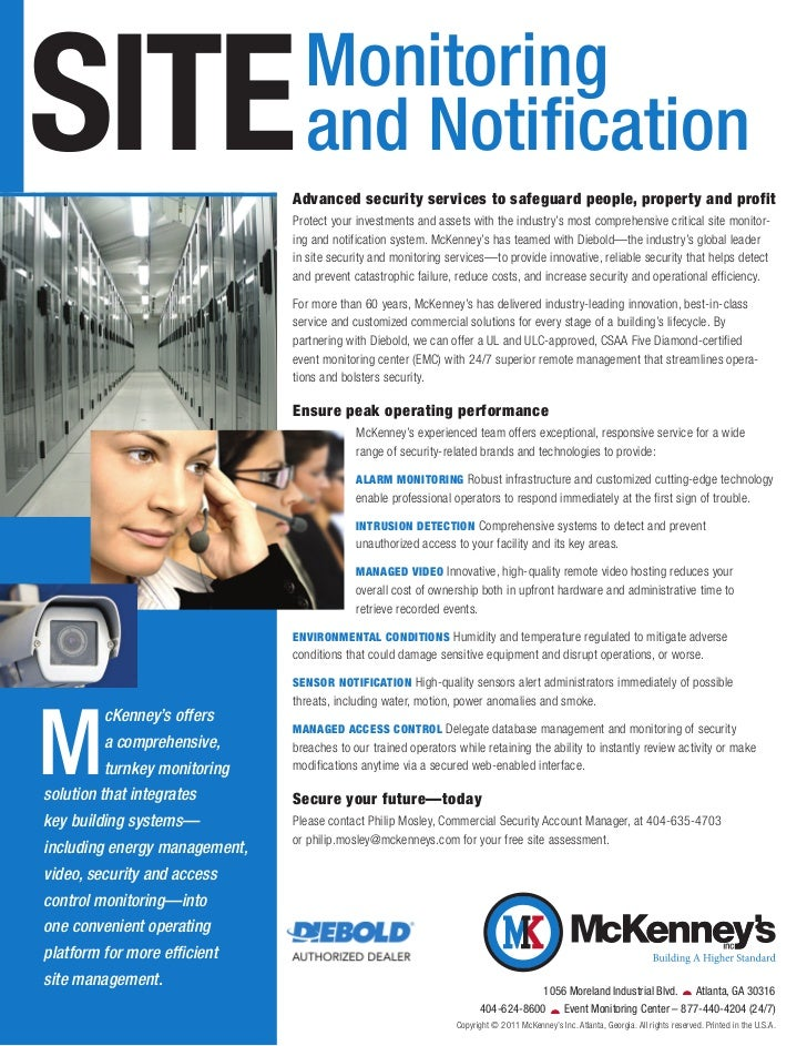 SITE                             Monitoring                                 and Notification                              ...