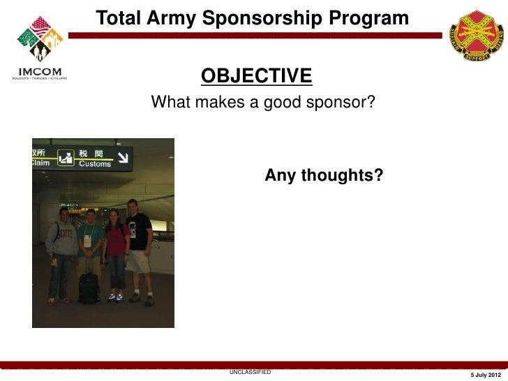 army-community-service-sponsorship-training-8-728 Da Form Sponsorship Examples on
