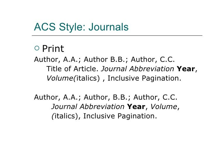 style journal Chapter 1manuscript preparation the american society of agronomy (asa), crop science society of america consult the style manuals of the american chemical society (coghill and or sssa journal, monograph, book.