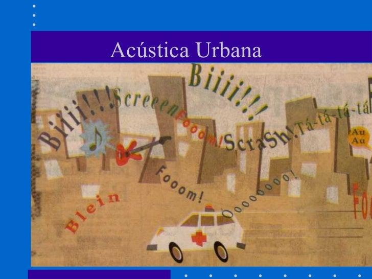 Acústica Urbana