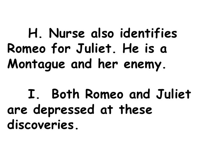 romeo and juliet outline 'romeo and juliet' has become forever associated with love but shakespeare's treatment of this theme is complex and multifaceted.
