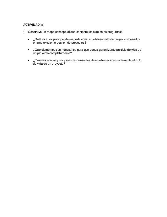 ACTIVIDAD 1: 1. Construya un mapa conceptual que conteste las siguientes preguntas: ¿Cuál es el rol principal de un profes...