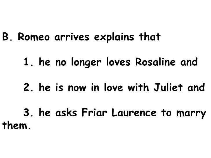 romeo juliet act outline 11 b romeo