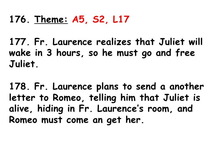 Romeo & Juliet Act 5 Sticky Notes