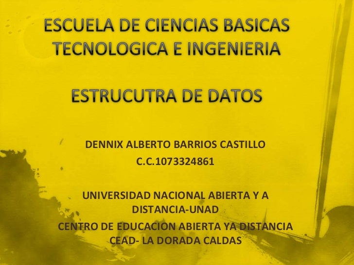 DENNIX ALBERTO BARRIOS CASTILLO             C.C.1073324861    UNIVERSIDAD NACIONAL ABIERTA Y A            DISTANCIA-UNADCE...