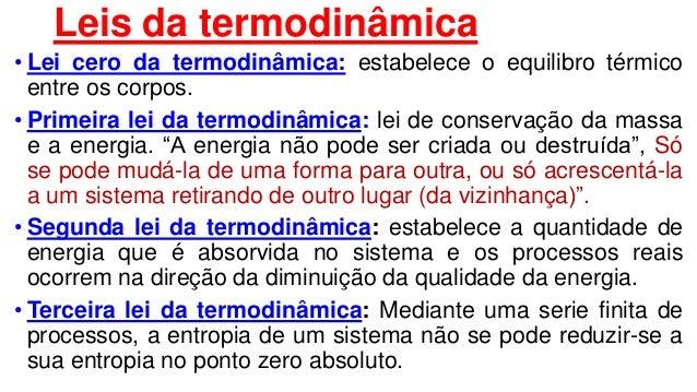 O que é a 2 lei da termodinamica