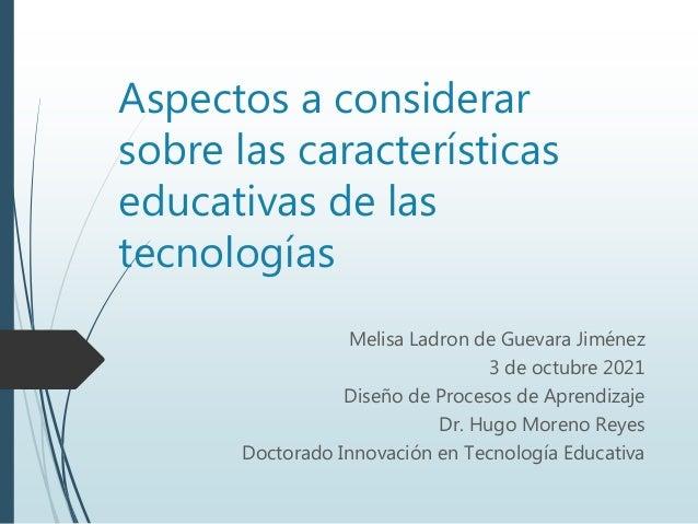 caractersticas educativas de la tecnologias 1 638