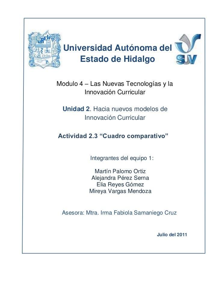 -98559158983<br />496633540005<br />Universidad Autónoma del Estado de Hidalgo<br />  <br />Julio del 2011Asesora: Mtra. I...