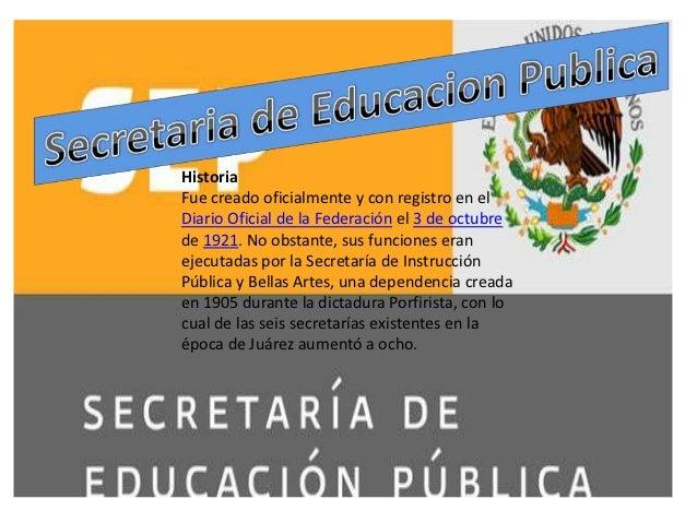 HistoriaFue creado oficialmente y con registro en elDiario Oficial de la Federación el 3 de octubrede 1921. No obstante, s...