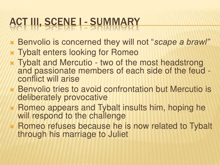 romeo juliet act iii study questions essay Short answer study guide questions - romeo and juliet act i 1)  act iii 1) in act iii, mercutio and benvolio get into a conflict with.
