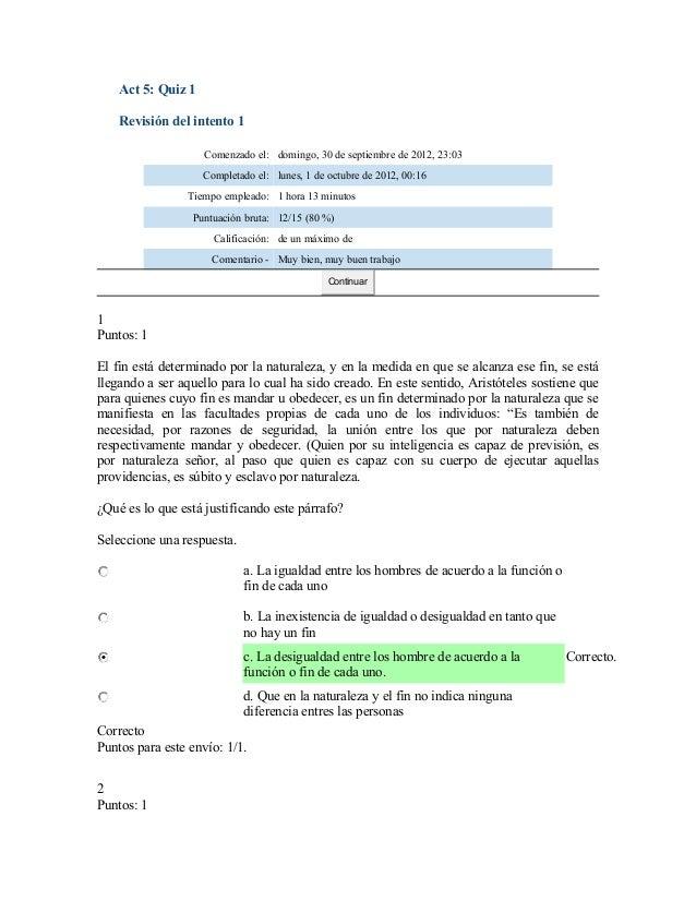 Act 5: Quiz 1    Revisión del intento 1                    Comenzado el: domingo, 30 de septiembre de 2012, 23:03         ...