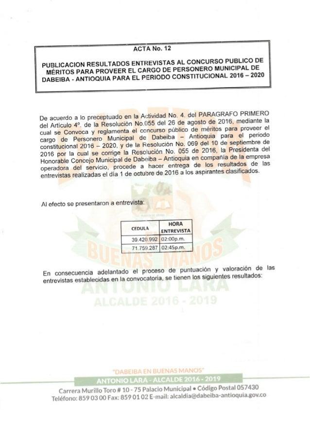 Acta 12