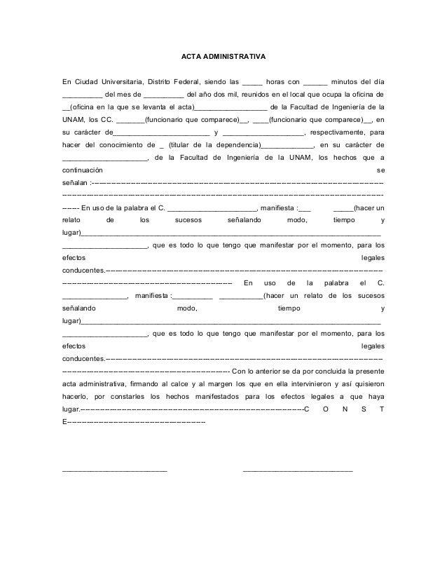 Word 27 Acta Administrativa