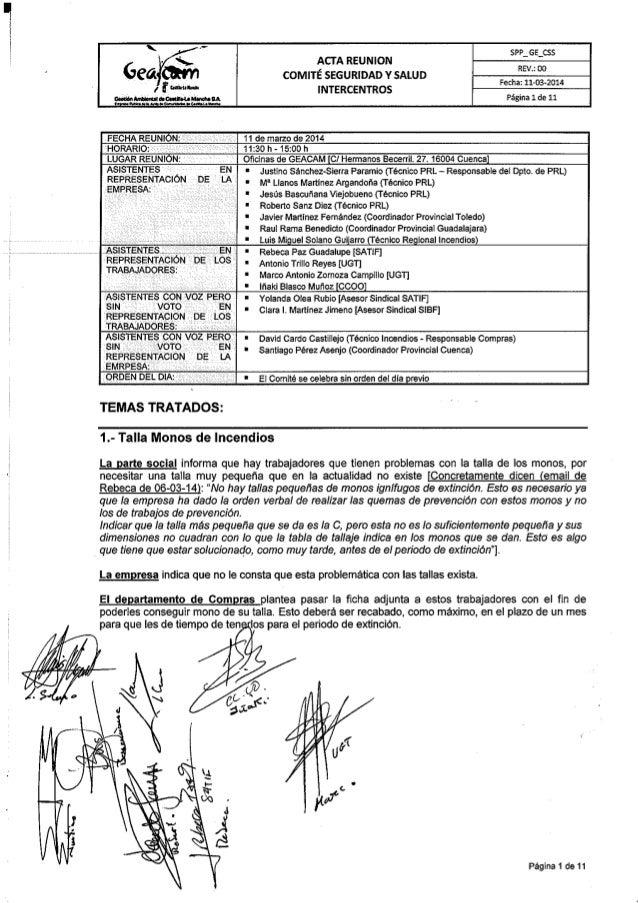 Acta comite sys 11 3-14