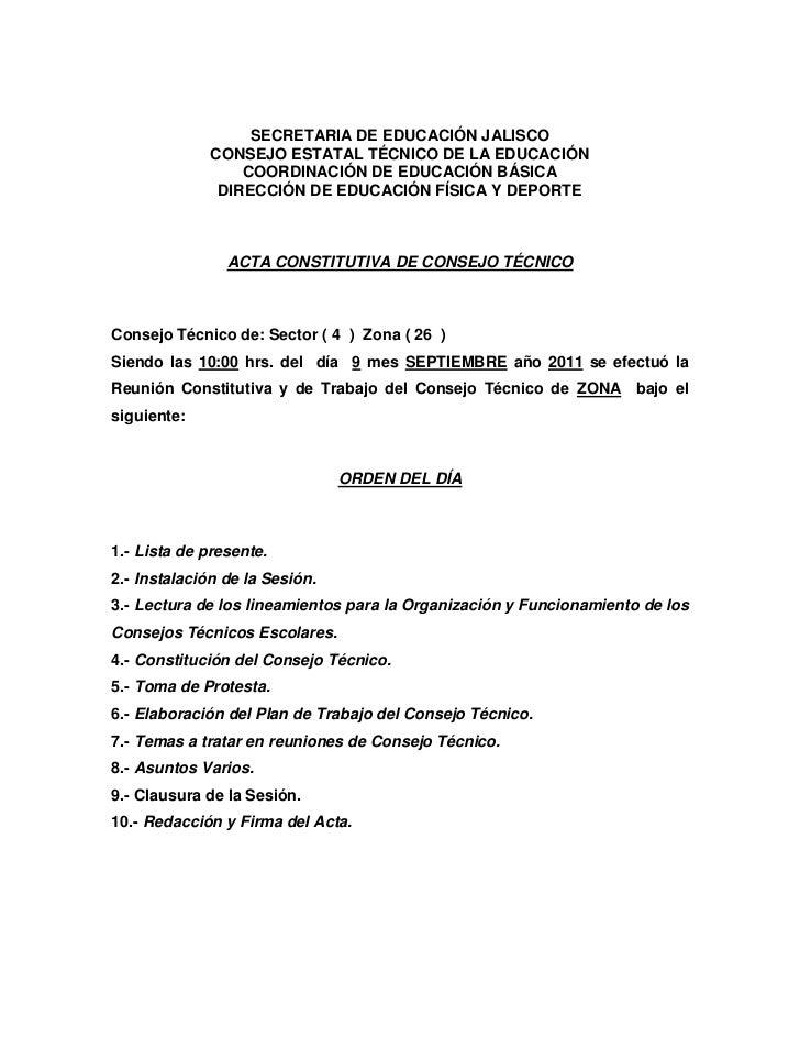 SECRETARIA DE EDUCACIÓN JALISCO              CONSEJO ESTATAL TÉCNICO DE LA EDUCACIÓN                  COORDINACIÓN DE EDUC...