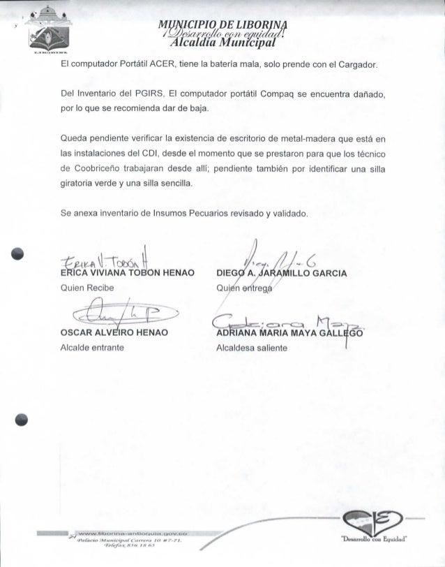 Actas De Entrega Administraci 243 N Municipal20151231 0719