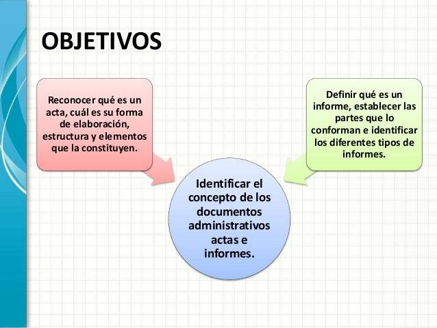 Actas E Informes