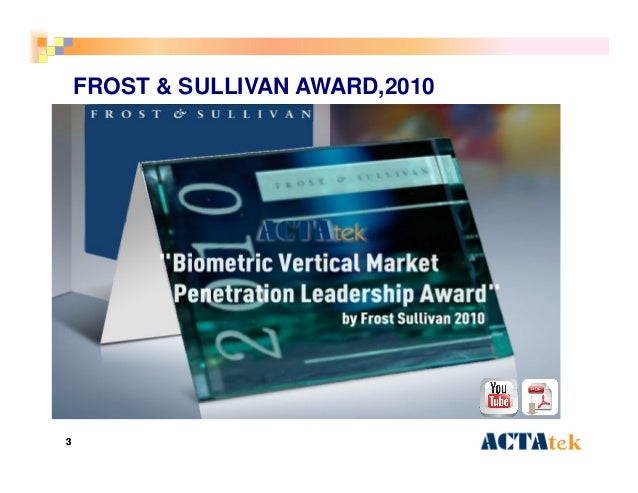 33 FROST & SULLIVAN AWARD,2010