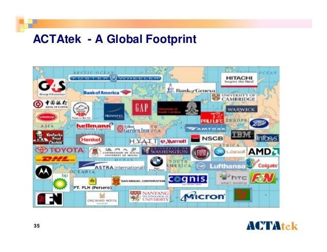 35 ACTAtek - A Global Footprint