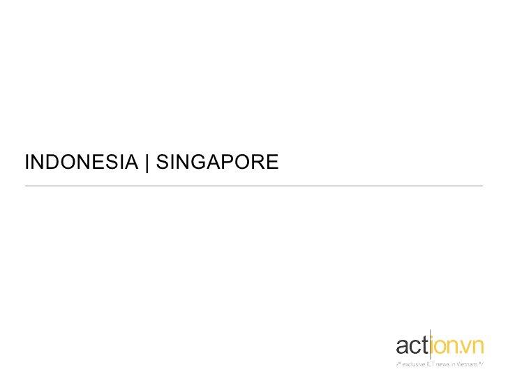 INDONESIA   SINGAPORE