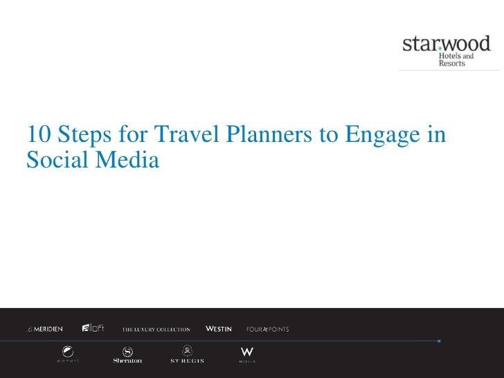 10 Steps for Travel Planners to Engage in Social Media<br />