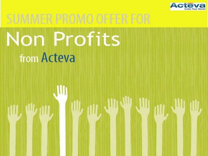 Summer Promo Offer that helps increase donations and promotes your cause