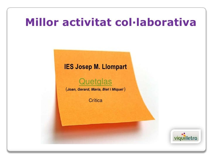 Premis projecte viquilletra 2012 for Josep quetglas