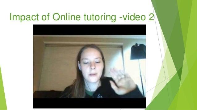 Impact of Online tutoring -video 2