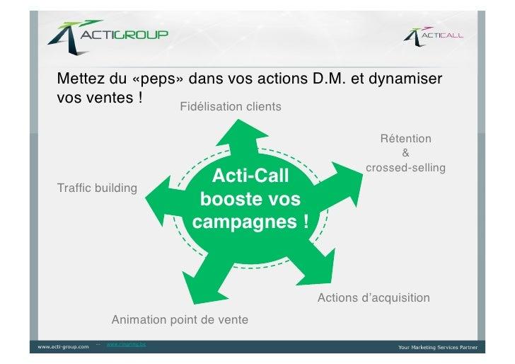Mettez du «peps» dans vos actions D.M. et dynamiservos ventes !!   Fidélisation clients!                                  ...