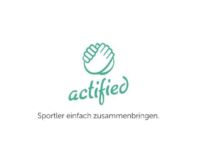 actified - Sportler einfach zusammenbringen