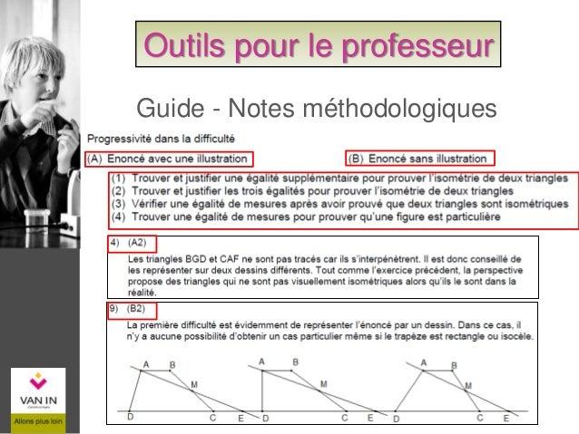 Guide - Solutions des exercices complémentaires Outils pour le professeur