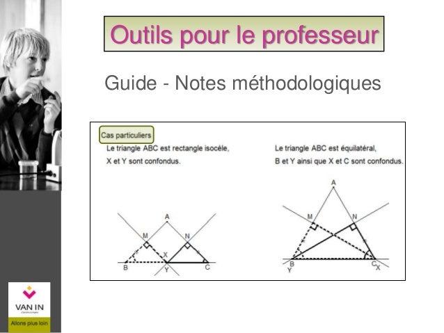 Guide – Tableau de compétences Outils pour le professeur