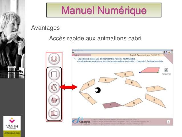 Accès rapide aux exercices complémentaires Manuel Numérique Avantages