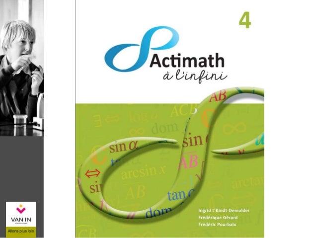  Un manuel en deux tomes : Algèbre-Analyse Statistique-Géométrie- Trigonométrie  Un livret d'exercices  Un guide méthod...
