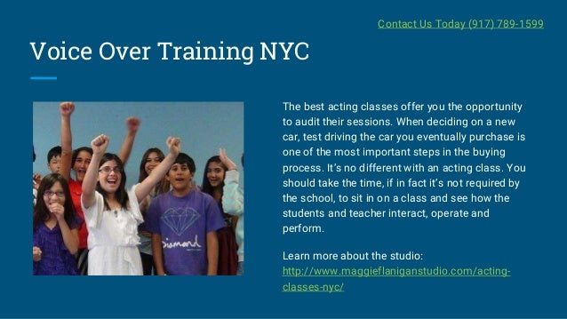 Acting Classes Nyc