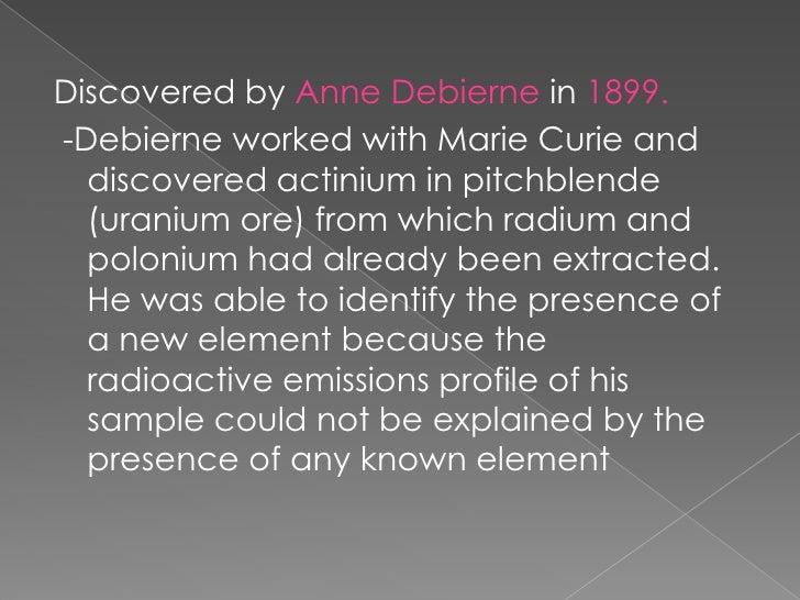 Actinium (1)