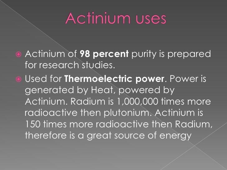 Actinium 1