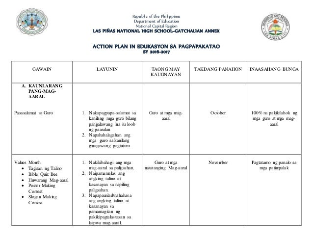 Action Plan In Esp