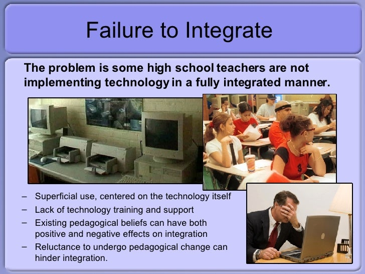 research paper on integrating technology in the classroom Integrating technology in the classroom  the paper and ink of the next generation  you might have noticed there is a massive push to use technology in the classroom these days hardly a day.