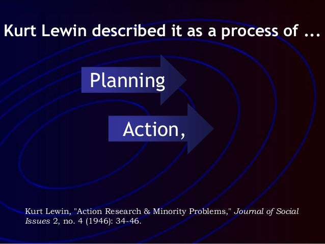 1946 paper action research and minority problems Abstract action research is applied, problem-based research, which usually   paradigm was published in 1946 and focused on the way minority ethnic groups   paper, lewin defines action research as 'a comparative research on the.