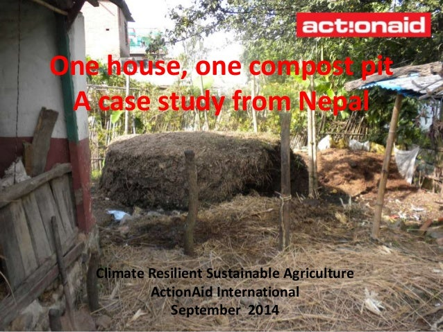 one house  one compost pit  u2013 a case study from nepal