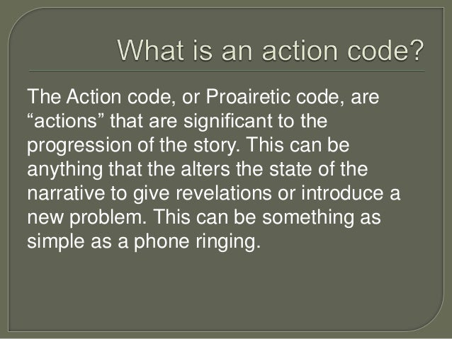 action and enigma codes roland barthes 3