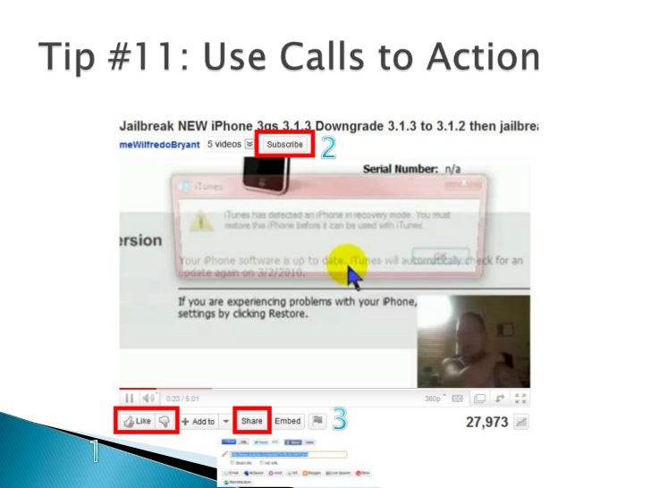 Tip #11: Use Calls to Action<br />