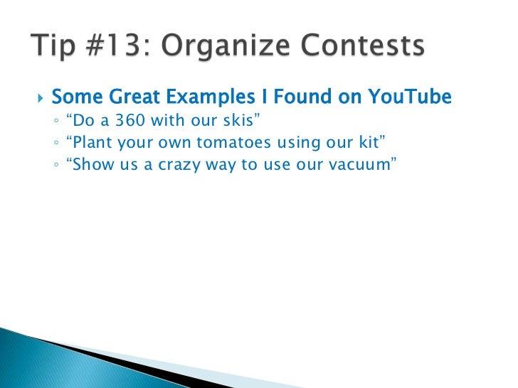 Tip #12: Use TubeMogul<br />