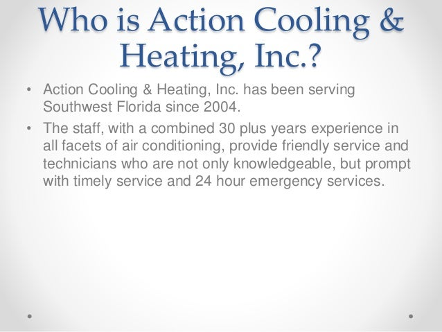 Action Cooling & Heating Fort Myers Slide 2