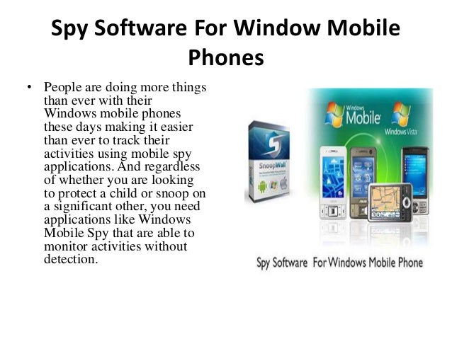 free spy call software for windows mobile