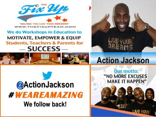 @@ActionJacksonActionJackson#TMOXFORD Action JacksonAction Jackson @@ActionJacksonActionJackson #WEAREAMAZING We follow ba...