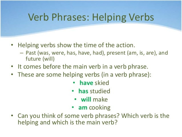 what are linking verbs and helping verbs